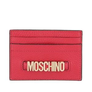 NEW MOSCHINO CARD WALLET IN RES